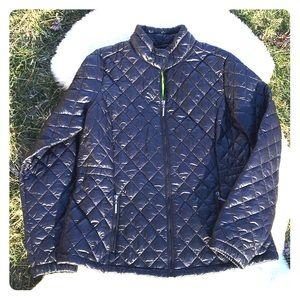 NWOT Weatherproof black ladies jacket size Lg